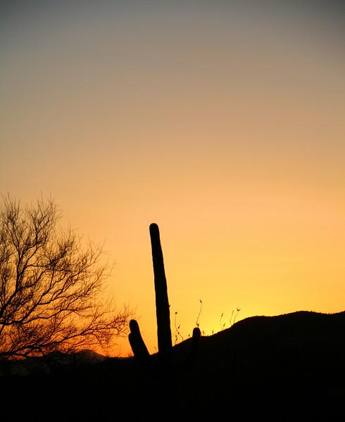 Sundown Over the Hill]