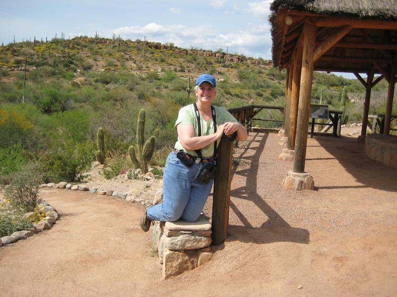 April 17, 2010 - (Boyce-Thompson Southwestern Arboretum State Park / Superior, Pinal County, Arizona) -- MaryAnne