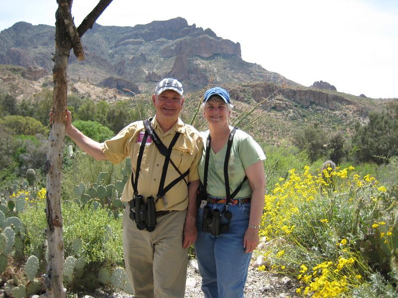 April 17, 2010 - (Boyce-Thompson Southwestern Arboretum State Park / Superior, Pinal County, Arizona) -- David & MaryAnne