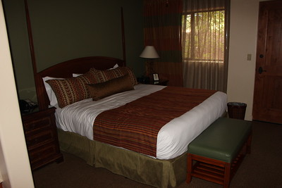 Master Bedroom at Timeshare
