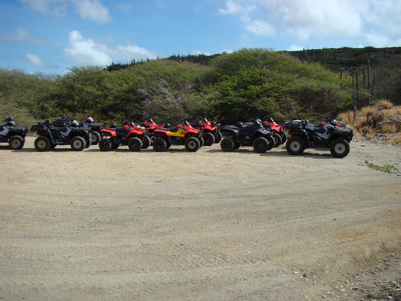 One of the days we took an ATV tour of the island.