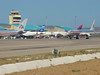 Aruba's main airport terminal.