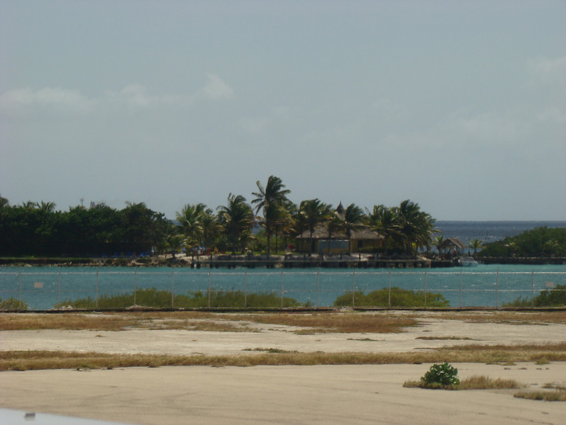 This is a picture of where the hotel boats docked when going to the hotels private island.