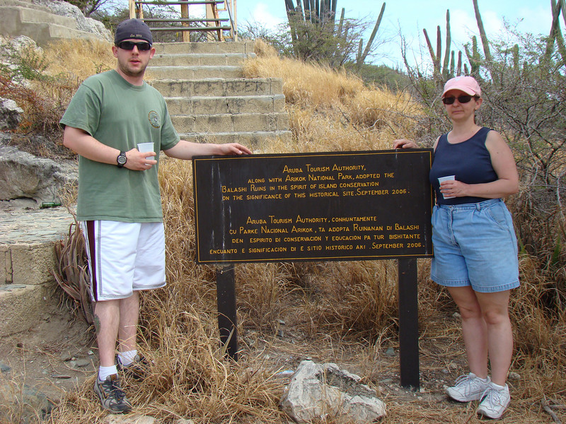 The was the 1st stop on the ATV tour which was to the original Balashi brewery ruins.