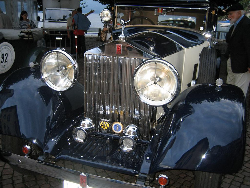 Antique Rolls Royce. There was a Rolls Royce meeting taking place that weekend.
