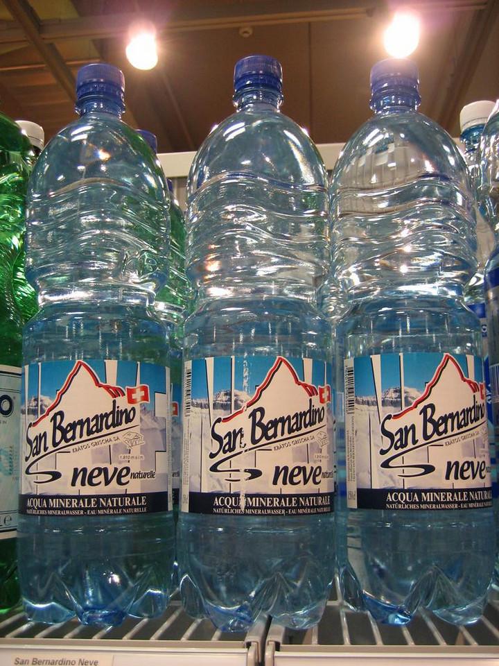 San Bernardino mineral water