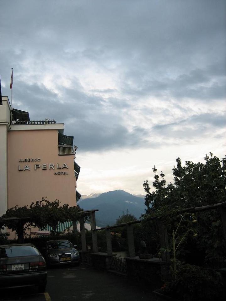 Hotel La Perla in Ascona. Recommended!