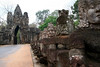 Angkor Thom's south gate.