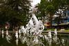 A fountain in Cholon