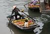 Fruit merchant, Halong Bay.