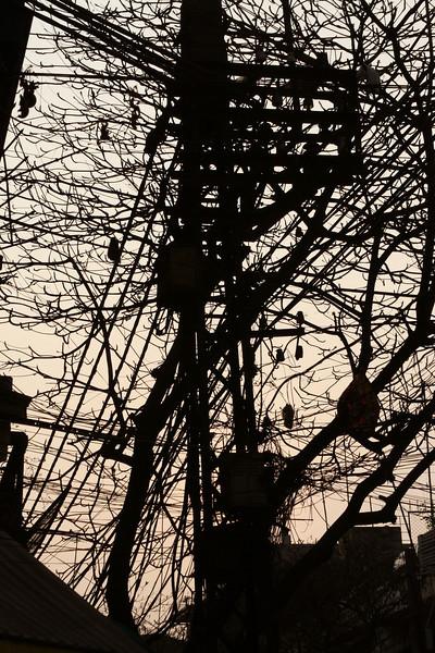 Wiring in Hanoi.