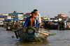 Cantho's floating market.