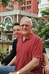 Brett and Bill in Kowloon