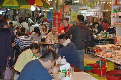 Outdoor Dining on Temple Street - Kowloon
