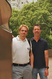 Wes & Jerry in Kowloon Park