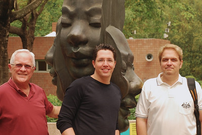 Bill, Brett, & Wes at Kowloon Park