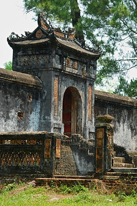 One of several old gates at Tu Duc tomb