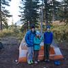 Camp #1 near West Maroon Creek