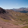 West Maroon Pass, looking toward the Crested Butte side