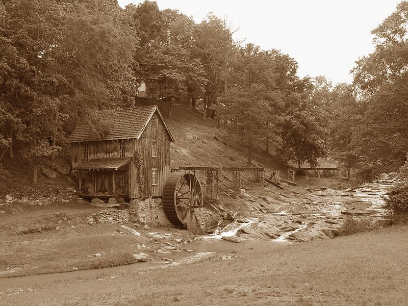 Old Mill (Wide)