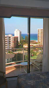 Hotel room in Surfers Paradise Australia