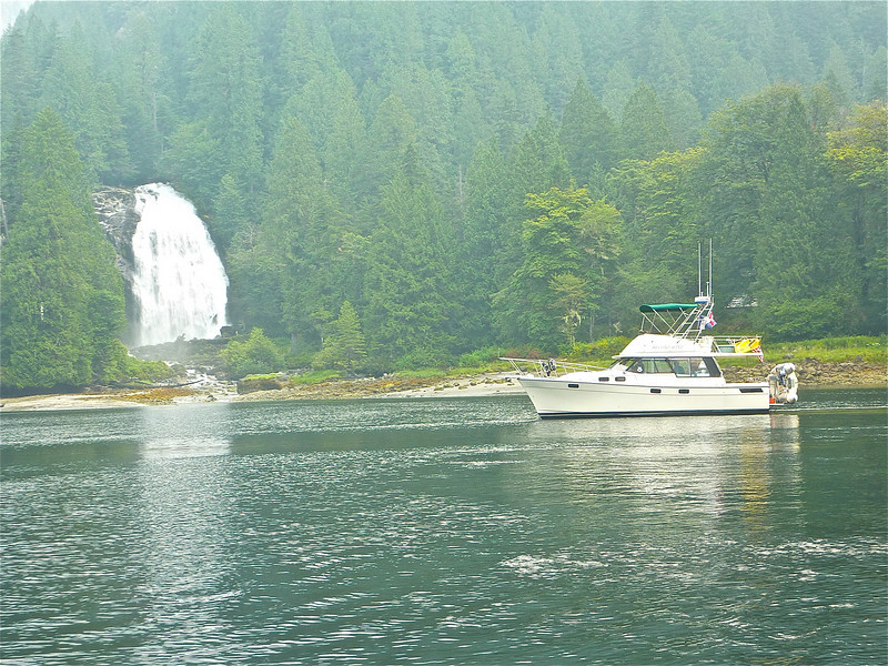 Secondwind at Chatterbox Falls, Princess Louisa Inlet