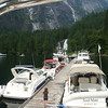 dock at Chatterbox Falls- Princess Louisa Inlet