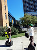 """Our fearless Segway leader practicing """"Safe Seg."""""""