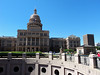 Back (north) side of the Texas state capitol building during a break on the Segway tour of Austin.