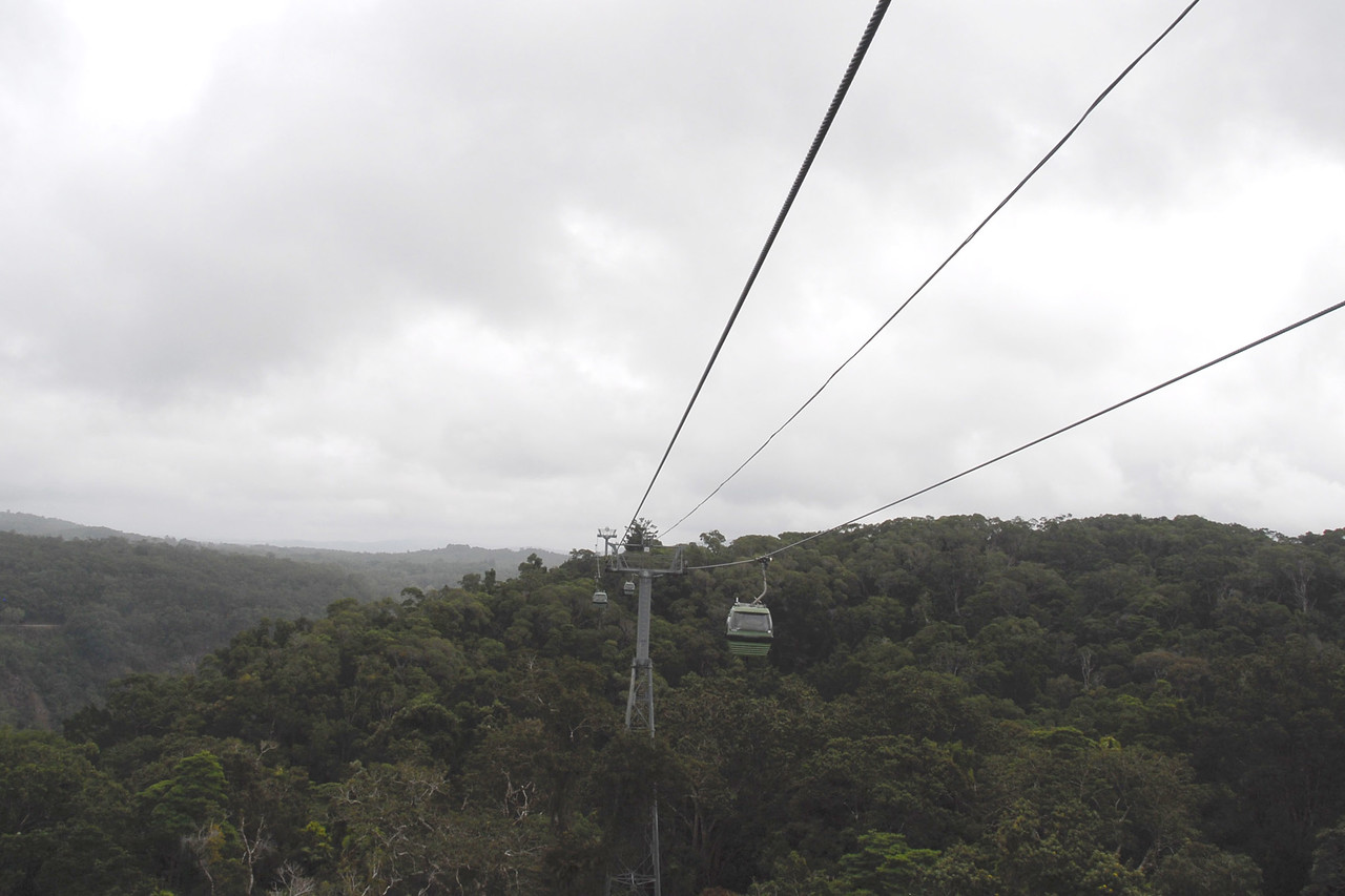 Then we continue on our way toward the village of Kuranda.