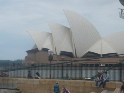 Day 3: Wandering the harbour - The Opera House