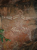 Aboriginal Rock drawing in Kakadu National Park