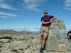 Top of Mount Koscioscko, easiest hike ever ;)