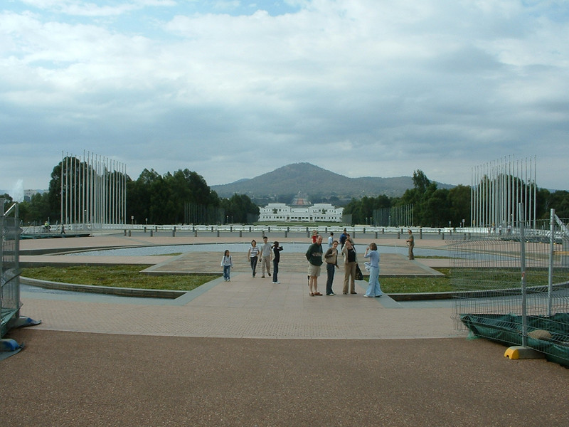 Parlaiment building Canberra