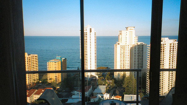 Surfers Paradise hotel Room view