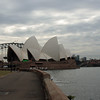 The opera house from the gardens