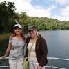 Anna & Lana on Lake Barrine