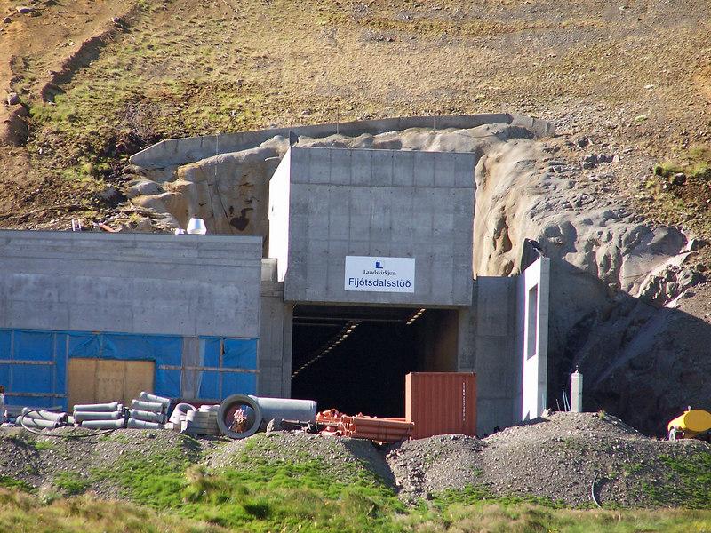 Fljótsdalsstöð - stöðvarhús Kárahnúkjavirkjunar