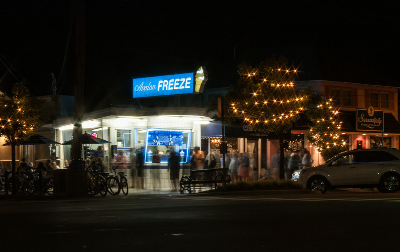 Avalon Freeze at Night