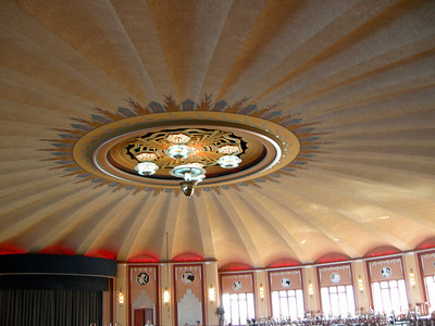 The Ballroom above the theater at the Casino.