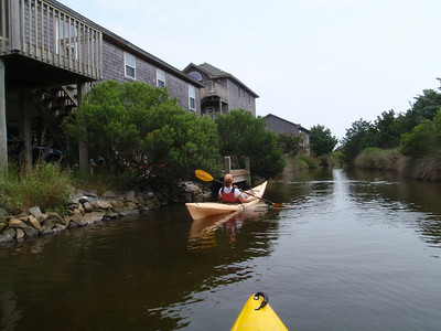 Avon soundside paddle 8-8-09