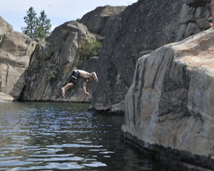 Banks Lake 2011<br /> Steamboat Rock State Park