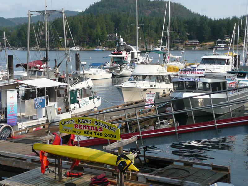 Madiera Park Marina, Pender Harbour