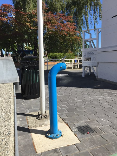 Public art- drinking fountain_Nanaimo