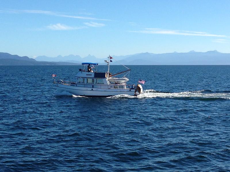 Sandpiper heading North from Nanaimo