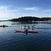 kayakes at Dusk_Prevost Hbr_Stuart