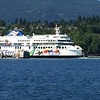 Ferry leaves Departure Bay, as we head out