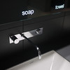 Even the bathrooms are cool at BMW World