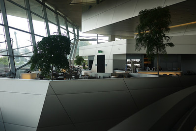 Cafe inside BMW World