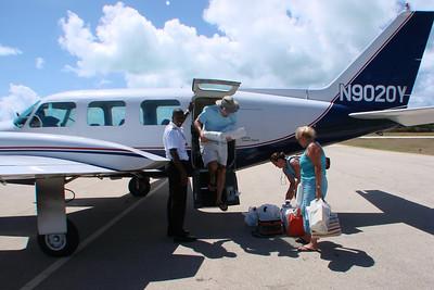 Capt.Neville Brathwaite Anegada Airport